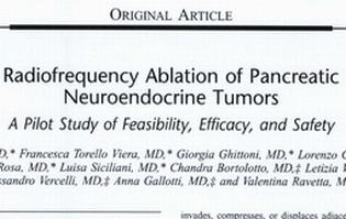 Radiofrequency Ablation of Pancreatic Neuroendocrine Tumors